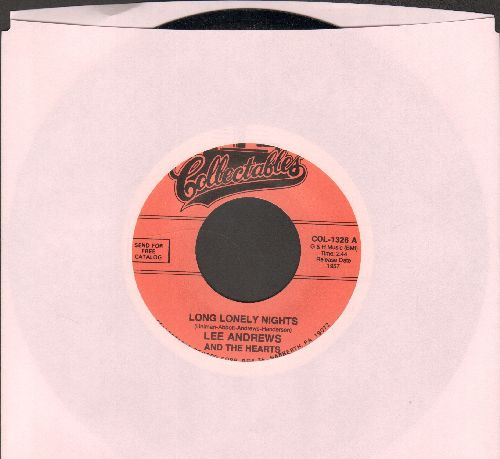 Andrews, Lee & The Hearts - Long, Lonely Nights/The Clock (double-hit re-issue) - NM9/ - 45 rpm Records