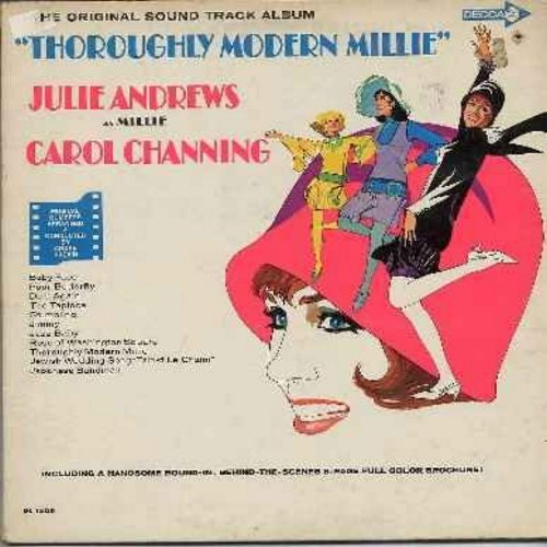 Andrews, Julie, Carol Channing - Thoroughly Modern Millie: The Original Sound Track Album (vinyl LP record) - Baby Face, Do It Again, The Tapioca, Japanese Sandman, Jazz Baby (includes color picture album)  - NM9/EX8 - LP Records