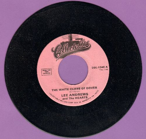 Andrews, Lee & The Hearts - The White Cliff Of Dover/Much Too Much (double-hit re-issue) - NM9/ - 45 rpm Records