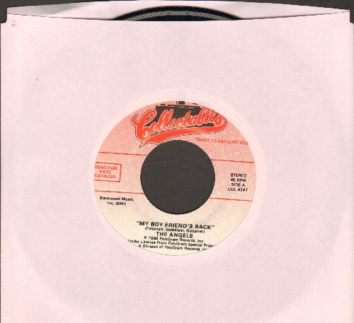 Angels - My Boyfriend's Back/Patches (by Dickey Lee on flip-side)  (re-issue) - NM9/ - 45 rpm Records
