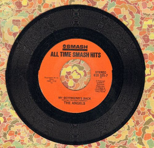 Angels - My Boyfriend's Back/Thank You And Good Night (double-hit re-issue) - VG7/ - 45 rpm Records