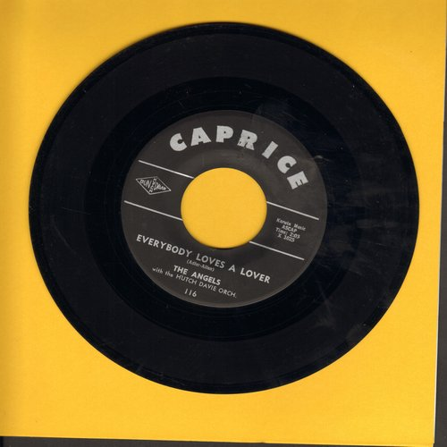 Angels - Everybody Loves A Lover/Blow Joe - VG7/ - 45 rpm Records