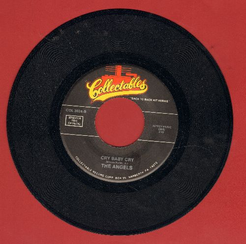 Angels - Cry Baby Cry/Till (double-hit re-issue) - M10/ - 45 rpm Records