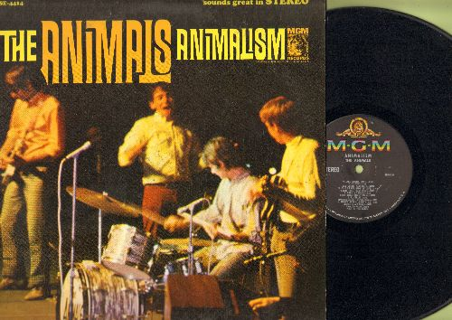 Animals - Animalism: Lucille, Hit The Road Jack, All Night Long, Shake, Louisiana Blues (vinyl STEREO LP record) - VG7/VG7 - LP Records