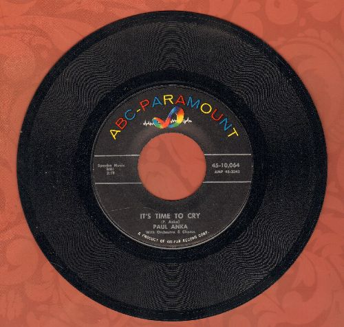 Anka, Paul - It's Time To Cry/Something Has Changed Me - EX8/ - 45 rpm Records