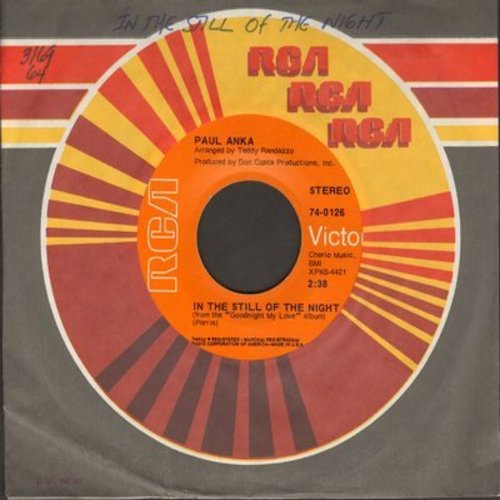 Anka, Paul - In The Still Of The Night/Pickin' Up The Pieces - EX8/ - 45 rpm Records