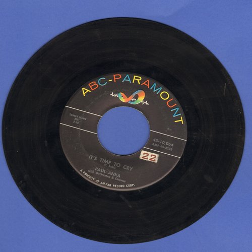 Anka, Paul - It's Time To Cry/Something Has Changed Me - VG7/ - 45 rpm Records