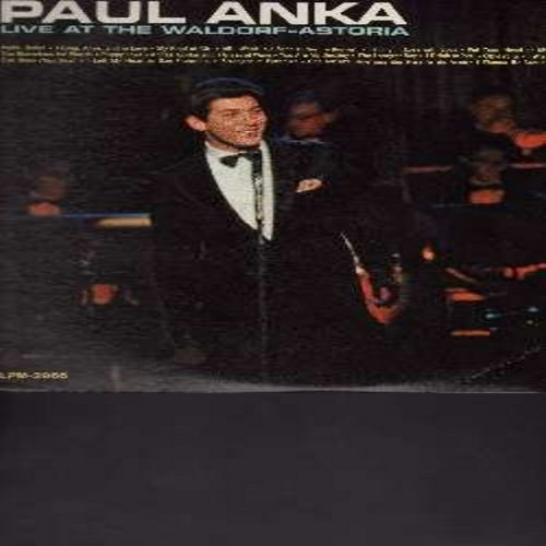 Anka, Paul - Excitement On Park Avenue - Paul Anka Live At The Waldorf Astoria:Eso Beso, I Drink To You, Anka Medley, Hello Dolly!, My Kind Of Girl, The Longest Day (vinyl MONO LP record) - NM9/EX8 - LP Records