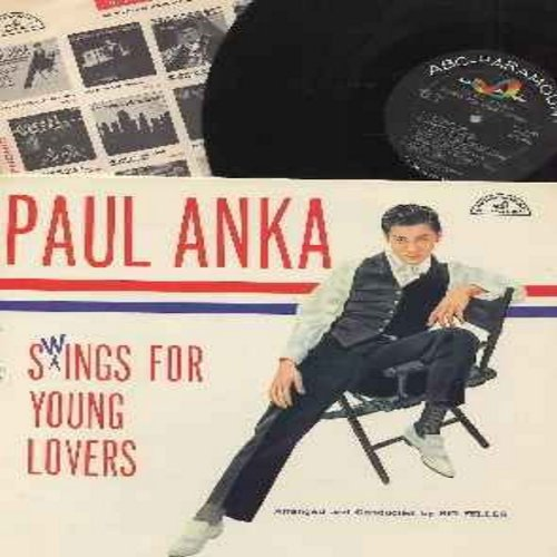 Anka, Paul - Swings For Young Lovers: You Made Me Love You, Secret Love, Train Of Love, I've Got My Love To Keep me Warm, I'm In The Mood For Love, I Can't Give You Anything But Love (vinyl MONO LP record, NICE condition!) - NM9/NM9 - LP Records