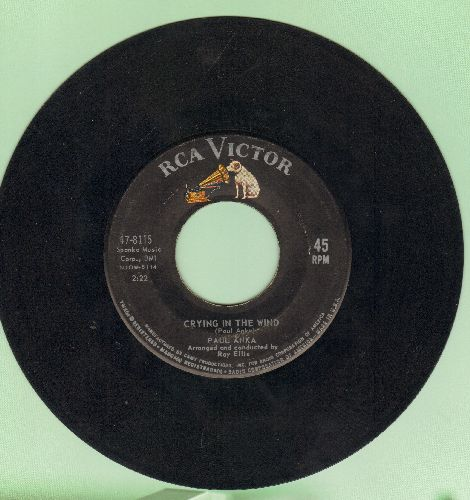 Anka, Paul - Crying In The Wind/Love - VG7/ - 45 rpm Records