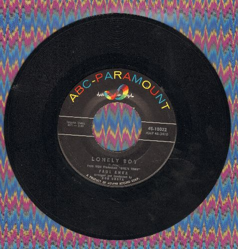 Anka, Paul - Lonely Boy/Your Love  - EX8/ - 45 rpm Records