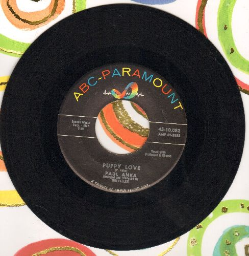 Anka, Paul - Puppy Love/Adam And Eve  - NM9/ - 45 rpm Records