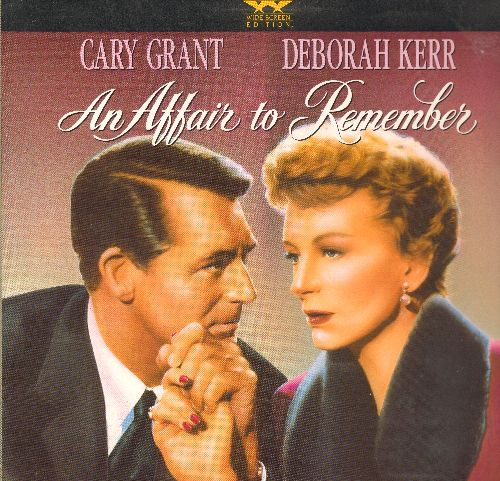 An Affair To Remember - An Affair To Remember - LASER DISC Widescreen Edition of the Romance Classic starring Cary Grant and Deborah Kerr, gate-fold cover. - NM9/NM9 - Laser Discs