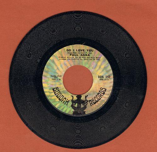 Anka, Paul - Do I Love You/So Long City - EX8/ - 45 rpm Records