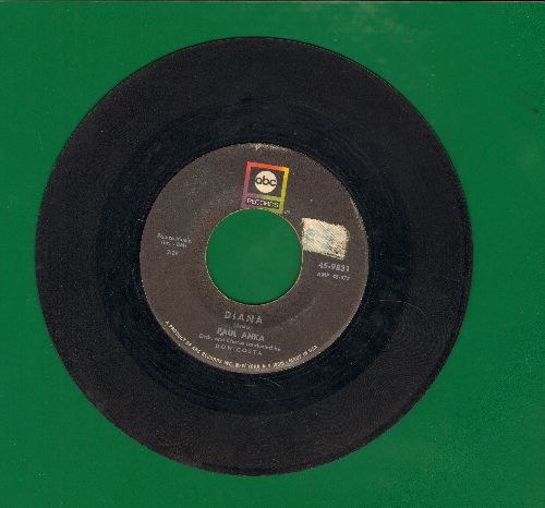 Anka, Paul - Diana/Don't Gamble With Love (1970s pressing) - VG6/ - 45 rpm Records