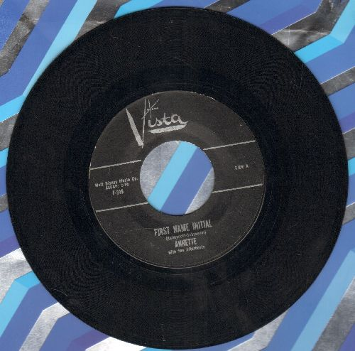 Annette - First Name Initial/My Heart Became Of Age - NM9/ - 45 rpm Records
