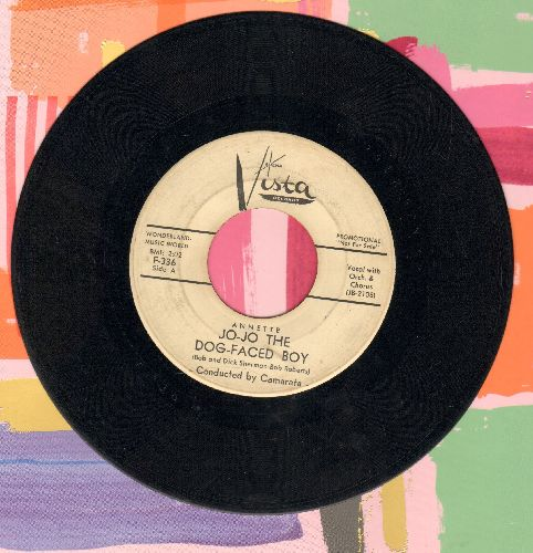 Annette - Jo-Jo The Dog-Faced Boy/Lonely Guitar (DJ advance pressing, minor wol) - VG7/ - 45 rpm Records