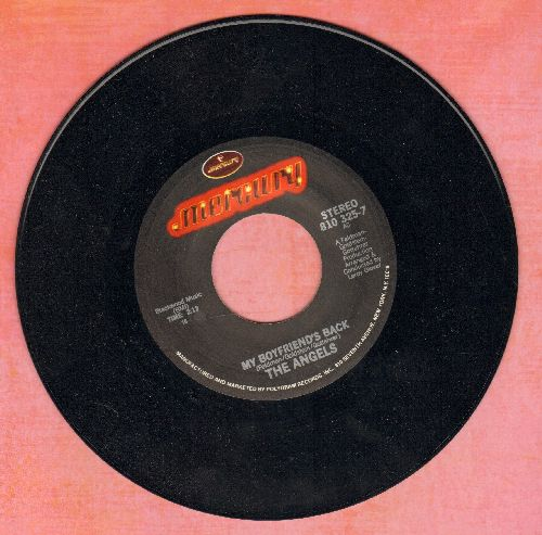 Angels - My Boyfriend's Back/Thank You And Good Night (double-hit re-issue) - NM9/ - 45 rpm Records