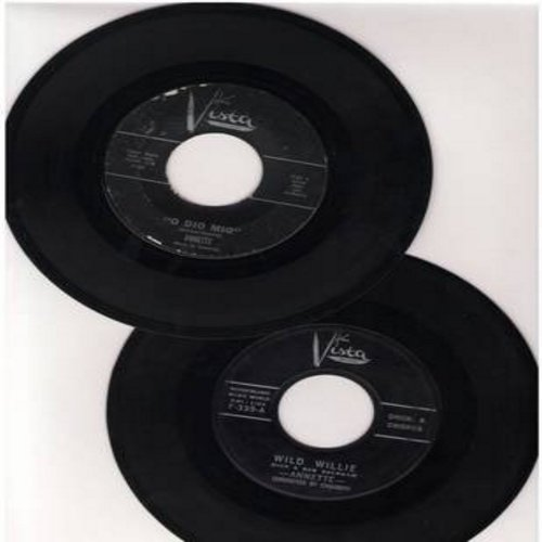 Annette - 2 for 1 Special: Wild Willie/O Dio Mio (2 first issue 45rpm records for the price of 1!) - EX8/ - 45 rpm Records