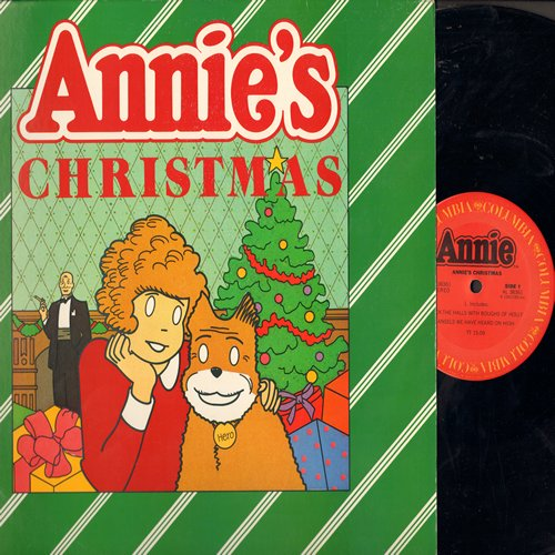 Annie's Christmas - Annie's Christmas: Deck The Halls With Boughs Of Holly, Angels We Have Heard On High/Jolly Old St. Nicholas, We Wish You A Merry Christmas (vinyl STEREO LP record) - NM9/EX8 - LP Records