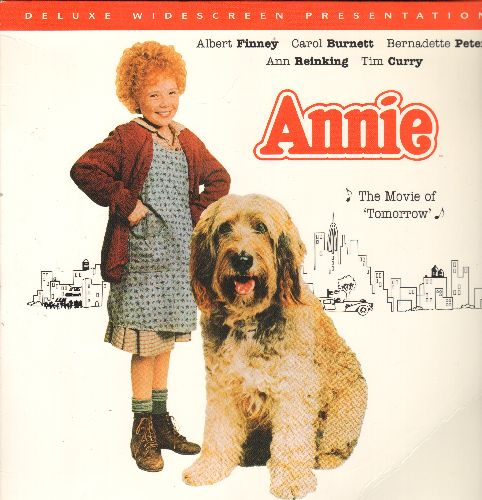 Annie - Annie - LASER DISC Version of the Hollywood Musical starring Aileen Quinn as the beloved Depression Era Orphan Annie (2 Laser Discs) - NM9/NM9 - Laser Discs