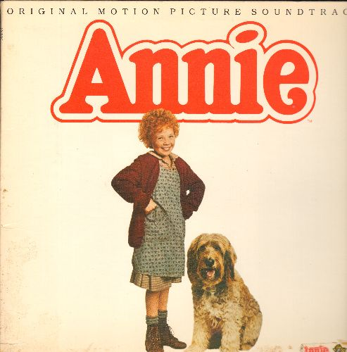 Annie - Annie - Original Motion Picture Sound Track (vinyl STEREO LP record, gate-fold cover) - EX8/VG7 - LP Records