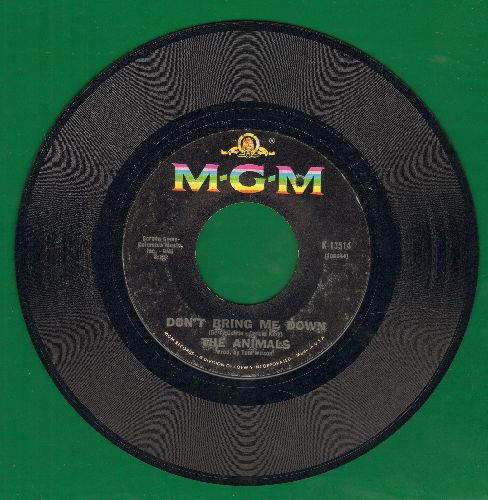 Animals - Don't Bring Me Down/Cheating (bb) - EX8/ - 45 rpm Records