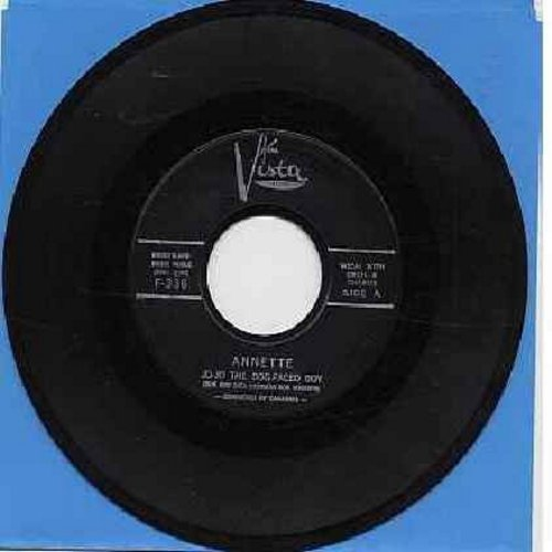 Annette - Jo-Jo The Dog-Faced Boy/Lonely Guitar (black label first issue) - EX8/ - 45 rpm Records