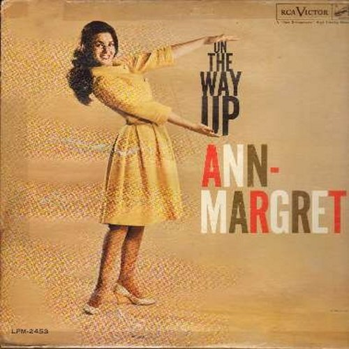 Ann-Margret - On The Way Up: Fever, Moon River, Heartbreak Hotel, His Ring, My Last Date (vinyl MONO LP record) - EX8/G5 - LP Records
