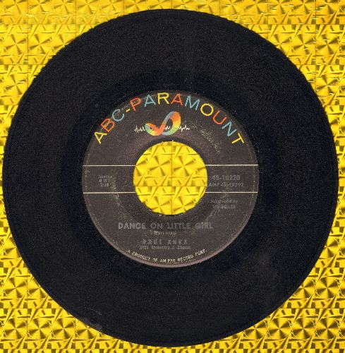 Anka, Paul - Dance On Little Girl/I Talk To You (On The Telephone) - VG7/ - 45 rpm Records