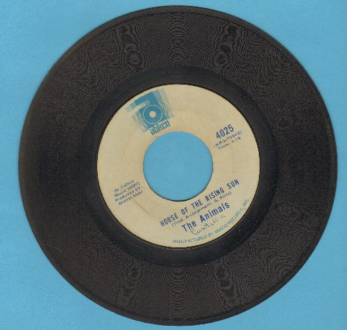 Animals - House Of The Rising Sun/Bring It On Home (double-hit re-issue) - VG7/ - 45 rpm Records