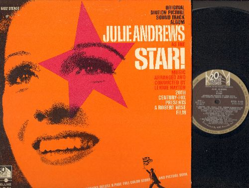 Andrews, Julie - Star! - Original Motion Picture Sound Track, music arranged and conducted by Lennie Hayton (vinyl STEREO LP record with picture pages, bb) - NM9/EX8 - LP Records