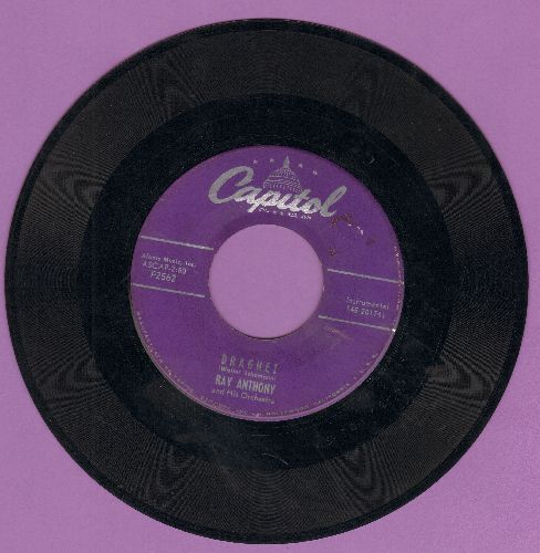 Anthony, Ray - Dragnet/Dancing In The Dark - VG7/ - 45 rpm Records