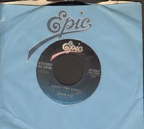 Ant, Adam - Goody Two Shoes/Crackpot History (with Epic company sleeve) - EX8/ - 45 rpm Records