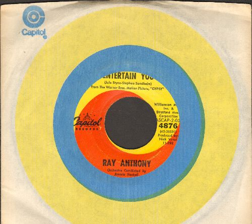 Anthony, Ray - Let Me Entertain You/The Wishing Star (with Capitol company sleeve) - EX8/ - 45 rpm Records