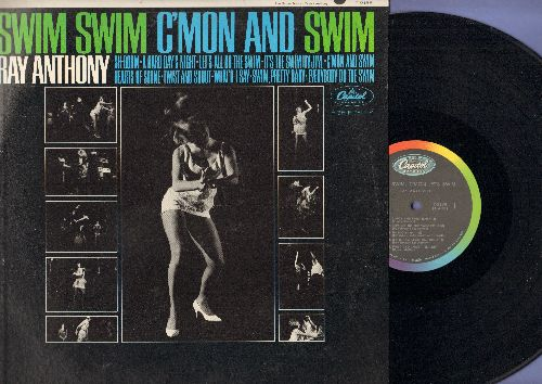 Anthony, Ray - Swim, Swim, C'mon And Swim: Sh-Boom, A Hard Day's Night, It's The Swim, Twist And Shout (vinyl MONO LP record) - NM9/NM9 - LP Records
