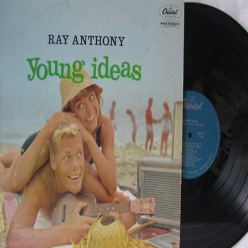 Anthony, Ray - Young Ideas: Moonglow, Nice Work If You can Get It, Just One Of Those Things, Button Up Your Overcoat (vinyl MONO LP record) - NM9/EX8 - LP Records