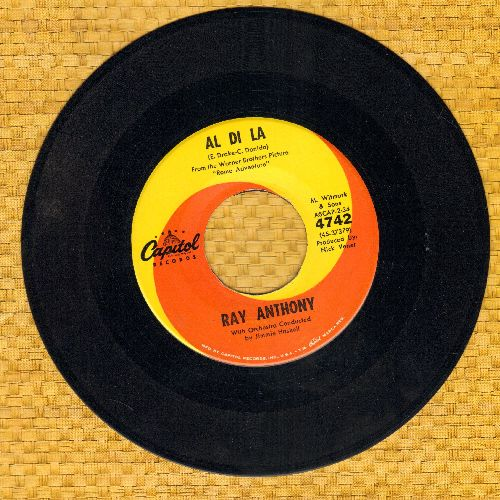 Anthony, Ray - Al Di La/Worried Mind - NM9/ - 45 rpm Records