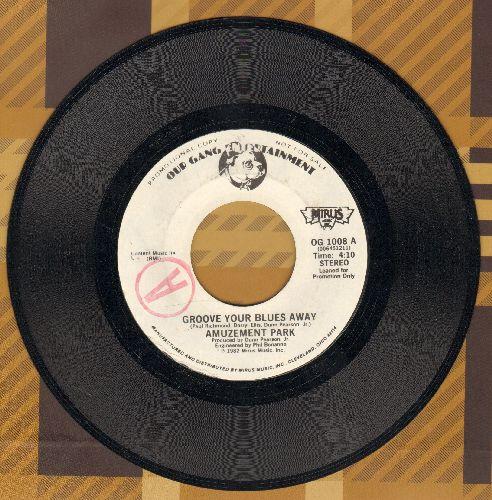 Amuzement Park - Groove Your Blues Away/Manuzement Park Sampler (DJ advance pressing) - NM9/ - 45 rpm Records