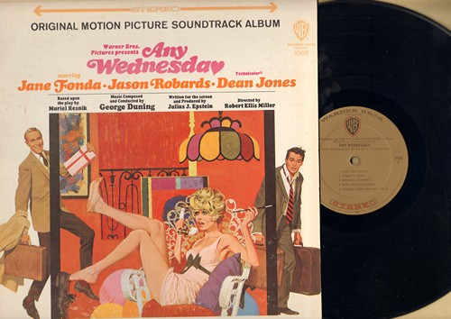 Any Wednesday - Any Wednesday - Original Motion Picture Soundtrack (vinyl STEREO LP record) - M10/EX8 - LP Records