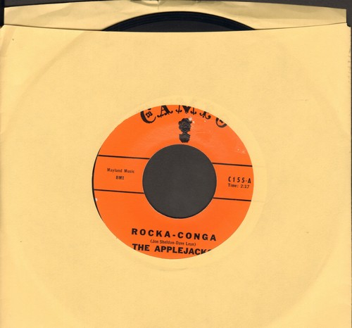 Applejacks - Rock A-Conga/Am I Blue - EX8/ - 45 rpm Records