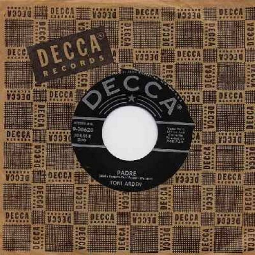 Arden, Toni - Padre/All At Once (with vintage Decca company sleeve) - NM9/ - 45 rpm Records