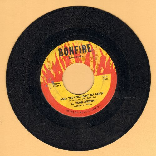 Arden, Toni - Don't You Come Home, Bill Bailey/I'll Say It Again - VG7/ - 45 rpm Records