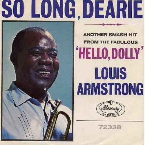 Armstrong, Louis - I Still Get Jealous/Someday (with picture sleeve) - NM9/NM9 - 45 rpm Records