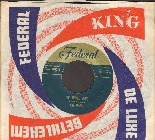 Armen, Kay - Just In Case/The Twinkle Song (1951 first pressing with company sleeve) - EX8/ - 45 rpm Records