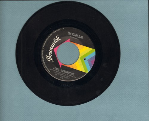 Armstrong, Louis - Daydream (VERY pleasant version of the John Sebastian/Lovin' Spoonful Classic)/Northern Boulevard Blues (bb) - EX8/ - 45 rpm Records