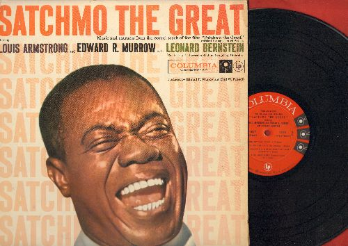 Armstrong, Louis - Satchmo The Great - Original Motion Picture Sound Track: When It's Sleepy Time Down South, St. Louis Blues, Mahogany Hall Stomp (vinyl MONO LP record) - EX8/EX8 - LP Records