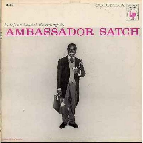 Armstrong, Louis - Ambassador Satch: Muskrat Rumble, All Of Me, Twelfth Street Rag, Undecided, Tiger Rag (vinyl MONO LP record, red label 6 eyes) - VG7/VG6 - LP Records