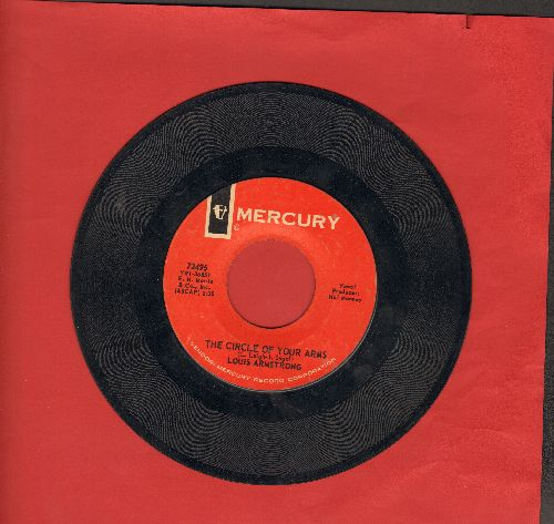 Armstrong, Louis - The Circle Of Your Arms/Short But Sweet  - EX8/ - 45 rpm Records