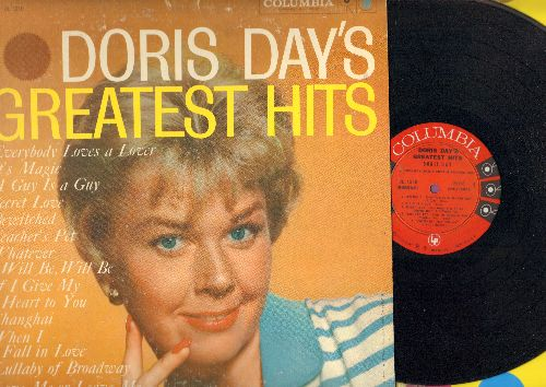 Day, Doris - Doris Day's Greatest Hits: Whatever Will Be Will Be, Secret Love, When I Fall In Love, Teacher's Pet, Love Me Or Leave Me (vinyl MONO LP record, first pressing) - NM9/EX8 - LP Records